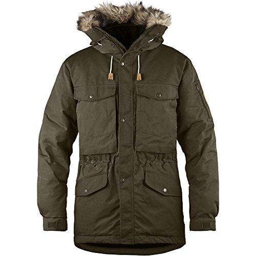 Fjällräven Herren Singi Down Jacket Daunenjacke, Dark Olive, XL