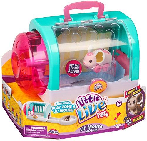 Little Live Pets 28170 Lil Mouse House Toy