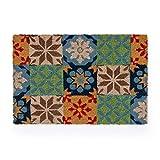 Montse Interiors, S.L. Felpudo/Alfombra Entrada de Casa Hidráulico Mosaico (Taylor, 40x60)