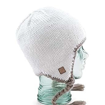 Bonnet Péruvien COAL Rowan Flap White