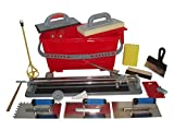 Fliesenschneider 600 mm Schnittlänge + Fliesenwaschset und Werkzeuge