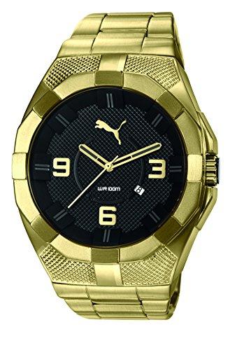 Puma XL Reloj de hombre acero inoxidable cuarzo reloj pu103921004impermeable 10ATM uvp130& # x20ac;