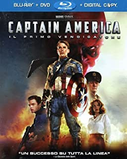 Captain America (Blu-Ray+Dvd+Digital Copy) (B005YJMBI6) | Amazon price tracker / tracking, Amazon price history charts, Amazon price watches, Amazon price drop alerts