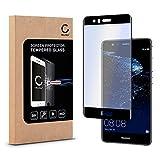 CELLONIC® Vetro protettivo di schermo per Huawei P10 Lite (HD-Qualità / 0,33mm / 3D Full Cover / Trasparenza ad alta) Pellicola Protettiva Temperato Adesiva Tempered Glass immagine