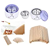#7: SWEET PEA Hair Removal Hard WAX HEATER MACHINE + Wax applicator stick.