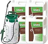 ENVIRA Anti-Spinnen-Mittel 4x2Ltr+5Ltr Sprüher