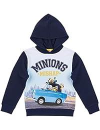 Minions Despicable Me Chicos Sudadera con capucha - Azul marino