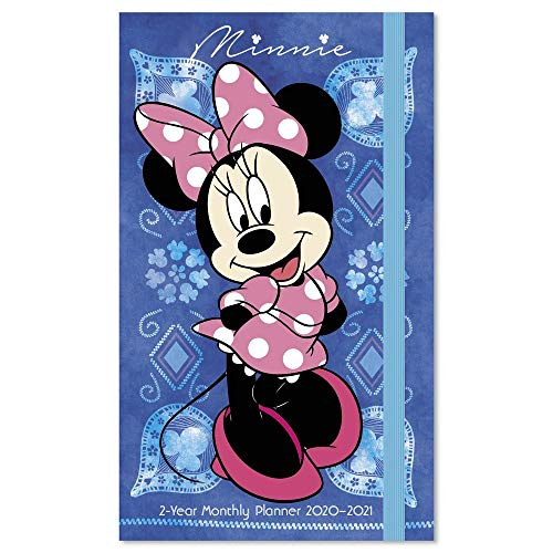 2020-2021 Disney Minnie Mouse Pocket Planner, 2 Year Planner (DDPP212820) - Disney Guide Planning