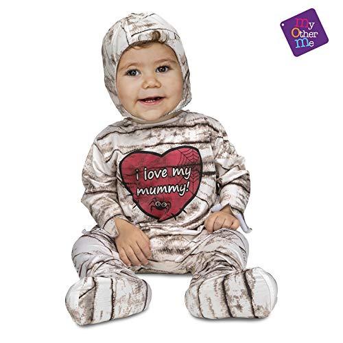 MY OTHER ME FUN COMPANY, SL Mumie Strampler Kostüm für Baby T-0/6 Monate