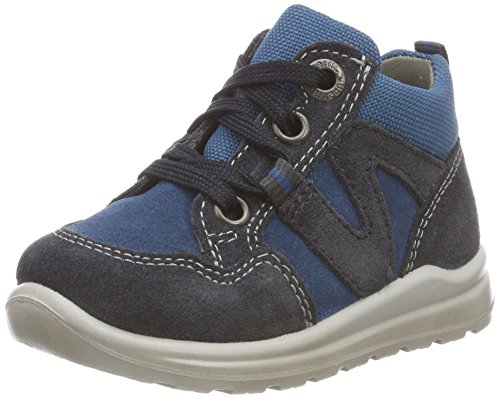 Superfit Baby Jungen Mel Sneaker, Grau (Grau/Blau 20), 20 EU
