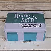 The Bright Side Storage Tin - Daddy's Stuff* (New)