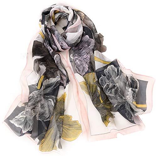 dfdd9b6081ee6 Hosaire 1x Silk Scarf Scarf Long Chiffon Silk Scarf Ladies long Silk Scarf  Four Colors Scarf