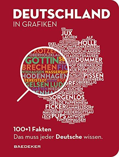 DEUTSCHLAND IN GRAFIKEN: Baedekers 100+1 Fakten. Das muss jeder Deutsche wissen. (Baedeker 100+1 Fakten) Buch-Cover