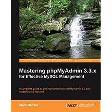 [(Mastering PhPMyAdmin 3.3.X for Effective MYSQL Management)] [By (author) Marc Delisle] published on (October, 2010)