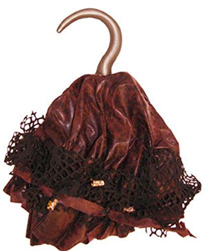 erdbeerclown-Pirates Crochet main Accessoires samtartiger plastique, Marron