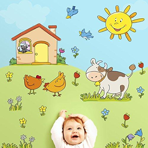 LeoStickers® - LeoKit start In Campagna: stickers murali bambini ...