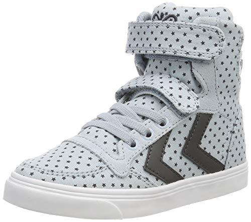 hummel Unisex-Kinder Slimmer Stadil Star JR Hohe Sneaker, Blau (Blue 7002), 26 EU - Star High Top Schuhe