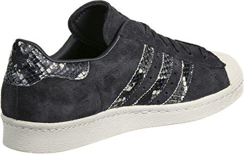 Schwarz 80 Adidas De Mulheres S76417 Tênis Superstar g11qpnOY
