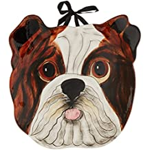 Pavilion Rescue Me now English Bulldog Ear Plate, George, 25,4 cm