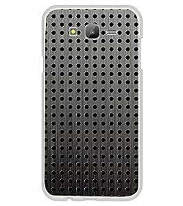 Fuson Designer Back Case Cover for Samsung Galaxy J7 (6) 2016 :: Samsung Galaxy J7 2016 Duos :: Samsung Galaxy J7 2016 J710F J710Fn J710M J710H (Circles SPheres Ovals black Grey)