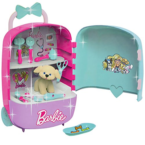 bildo 2183Barbie Mega Case Portable Pet Vet