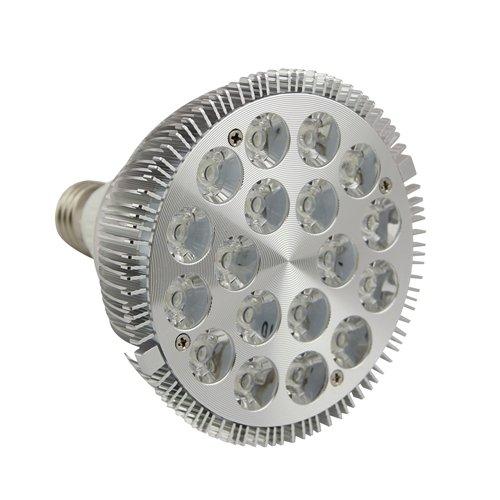 Sostenedor de la lámpara: E27Voltaje de entrada: AC85V-240VConsumo de energía: 18WCantidad de LED: 18Fuente de luz LED: 1WColores claros: blanco cálido.Temperatura de color: blanco cálido 2800K-3200KLumen: 1500 lúmenesÁngulo de haz: 60Material de la ...