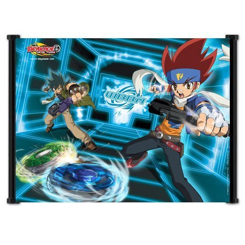 Fusion Scrolls (BWGFQC Beyblade Metal Fusion Anime Fabric Wall Scroll Poster (21