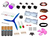 50 items in 1 kit - Motors, Cell, LEDs, ...