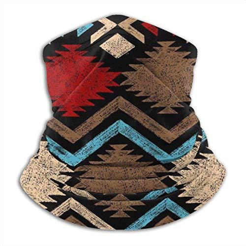 YudoHong Handgezeichnete Stammes-nahtlose Muster Nackenwärmer hautfreundlich Nackenschutz komfortable Skimaske vielseitig winddicht Nackenschutz T -