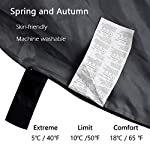 ACTIVE FOREVER Mountaineers Outdoor Sleeping Bag with Compression Sack, Lightweight Waterproof for Warm Cold Weather 4… 9