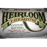 De plástico duro HL81 | 80% Heirloom algodón relleno de algodón | 81in x 96in