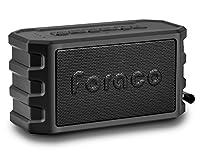 24 ore di musica 24 ore di musica continua: Lo speaker bluetooth ha integrata una batteria ricaricabile da 6000mAh, lo speaker portatile può essere usato anche come carica batteria esterno per caricare il tuo smartphonesBassi profondi e suono...