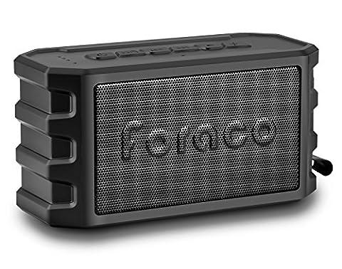 Enceinte Velo - Enceinte Bluetooth, Foraco Bluetooth 4.2 Haut-Parleur avec