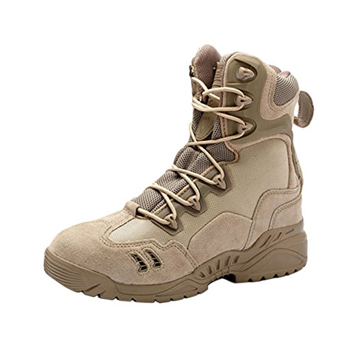 Haodasi Jagd Stiefel Tactical Boots Security Einsatzstiefel Trekking-Schuh Wanderschuh Bergschuh Outdoorschuh PbO0HBO1