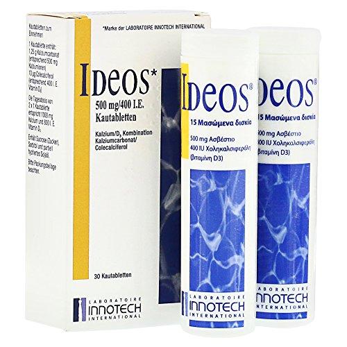 IDEOS 500 mg/400 I.E. Kautabletten 30 St Kautabletten -