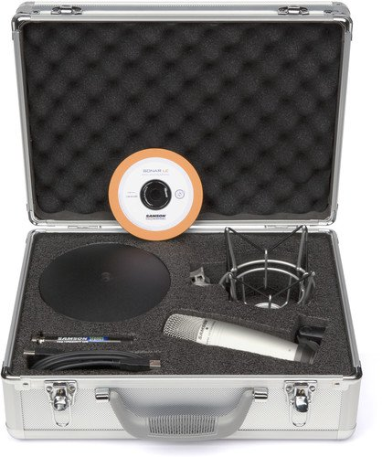 g Package (C01U USB Mikrofon + Stativ +  Halterung + Kabel + Cakewalk Sonar LE Software) (Usb-kabel Für Samson Mikrofon)