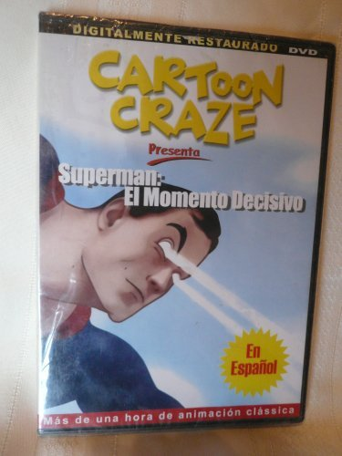 Cartoon Craze Presenta Superman El Momento Decisivo DVD En Espanol Animacion Classica