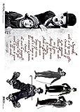 Accademia del Decoupage 32 x 45 cm Reispapier Charlie Chaplin Italian