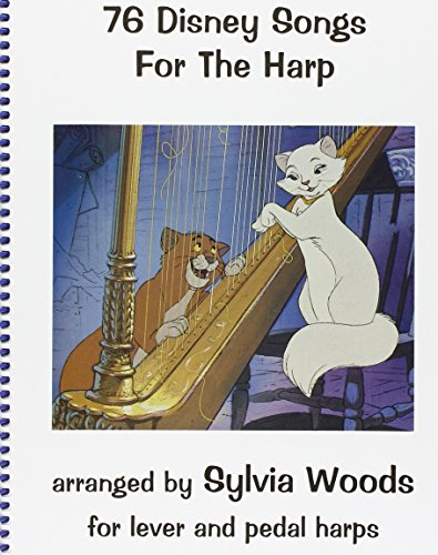 76 disney songs for the harp harpe