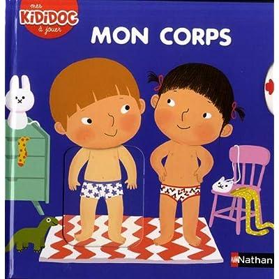 Mon corps - Livre animé Kididoc - Dès 2 ans