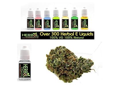 AK-47 Weed Flavour Herbal E Liquids 10ml 100% VG 0 mg Nikotin von Herbal E Liquids