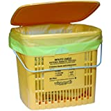 VIROSAC 111400- Cubo de la basura ventilado, naranja, 26x 23x 23cm