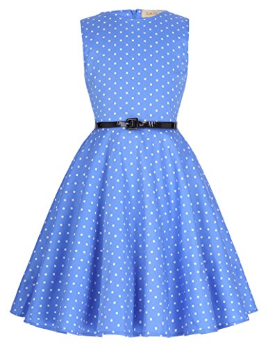 A-Linie Maedchen Retro 50er Party Kleid 13-14 Jahre ()