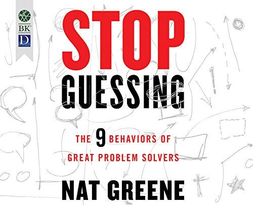 STOP GUESSING                M (Tom Greene)