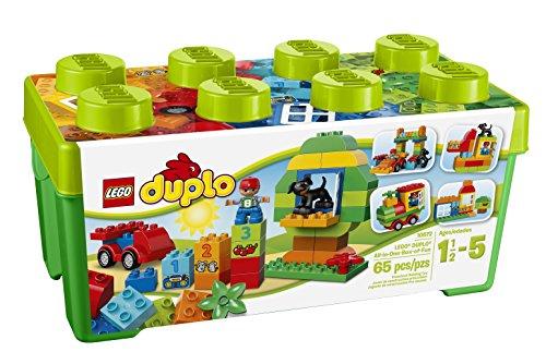 LEGO Duplo 10572 - Große Steinebox, Kreatives Lernspielzeug -