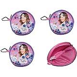 4pieza Disney Violetta Cartera de plástico obsequios