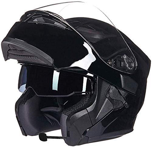 LKCAK FYBAO Casco da Discesa per Giovani Adulti Regalo Occhiali Maschera Guanti Casco Integrale Casco Sportivo da Equitazione Casco Leggero MTB