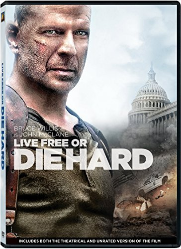 Live Free or Die Hard (Unrated Edition) by Bruce Willis (- Dvd-live Free, Die Hard)