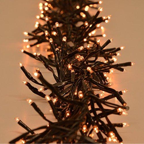 Büschellichterkette warmweiß für Außen 768 Lichtern Weihnachtsdeko