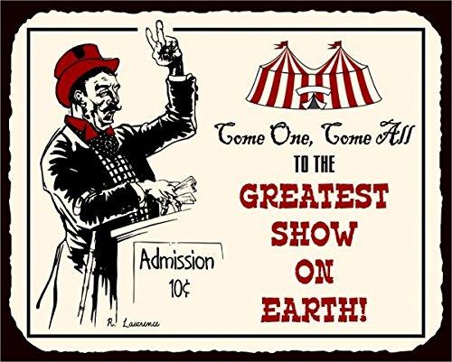 circus-show-vintage-metal-art-retro-metal-tin-sign-305-x-305-cm-quadrato-in-metallo-vintage